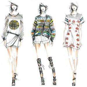 Các mẫu thời trang tiêu biểu
